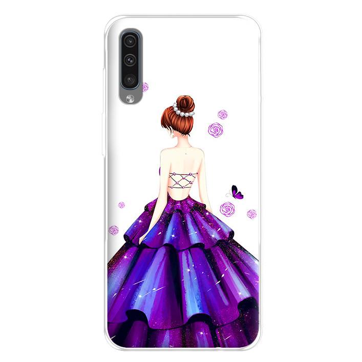 Ốp lưng dẻo cho điện thoại Samsung Galaxy A50 - 224 0100 GIRL06