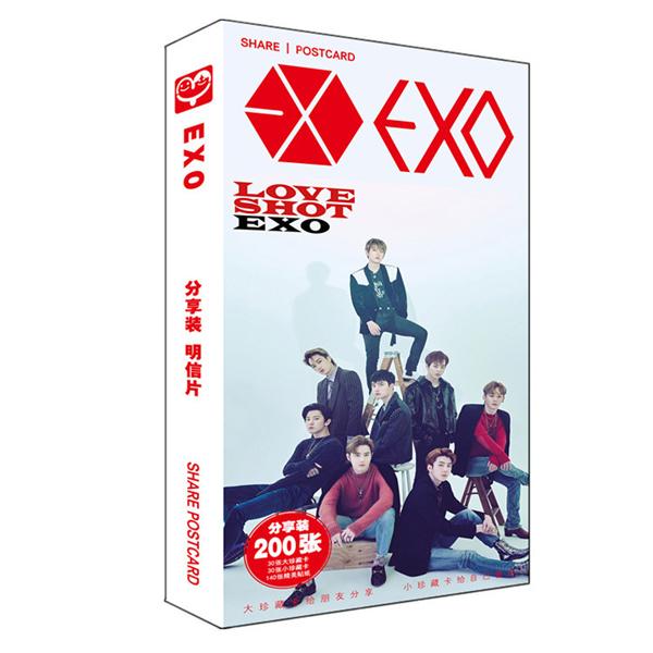 Postcard EXO 200 hình