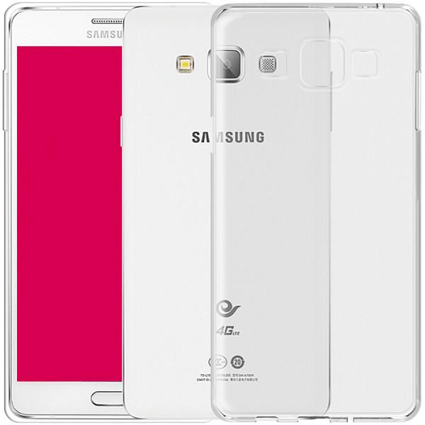 Ốp Lưng Trong Suốt Cho Samsung Galaxy A7 Biaze Fresh Series JK23 - Trắng