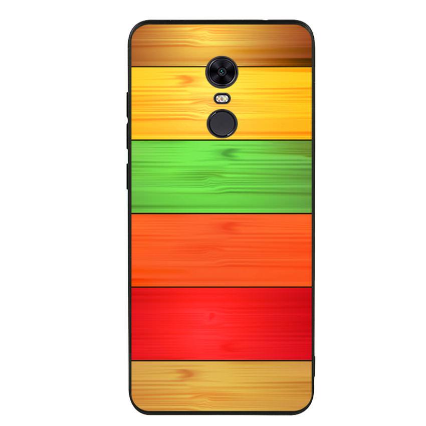 Ốp lưng nhựa cứng viền dẻo TPU cho điện thoại Xiaomi Redmi 5 Plus - Sắc Màu