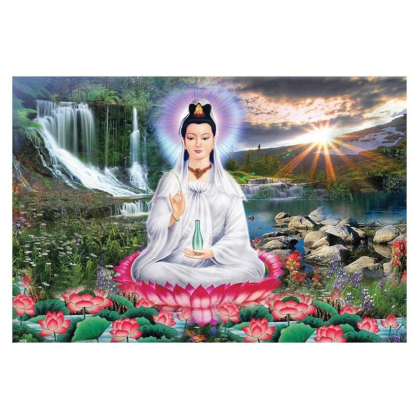 Tranh Phật Giáo Quan Thế Âm Bồ Tát 2328