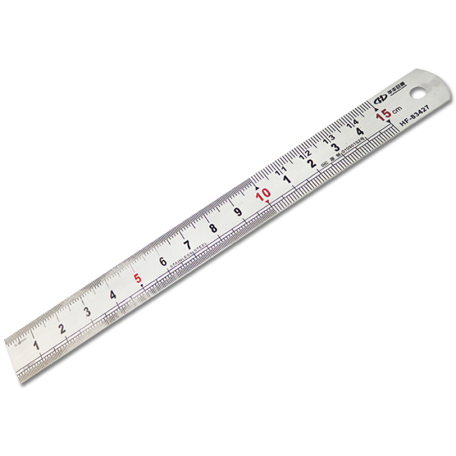 Thước Kẻ Thép Huafeng HF-83427 (15cm)