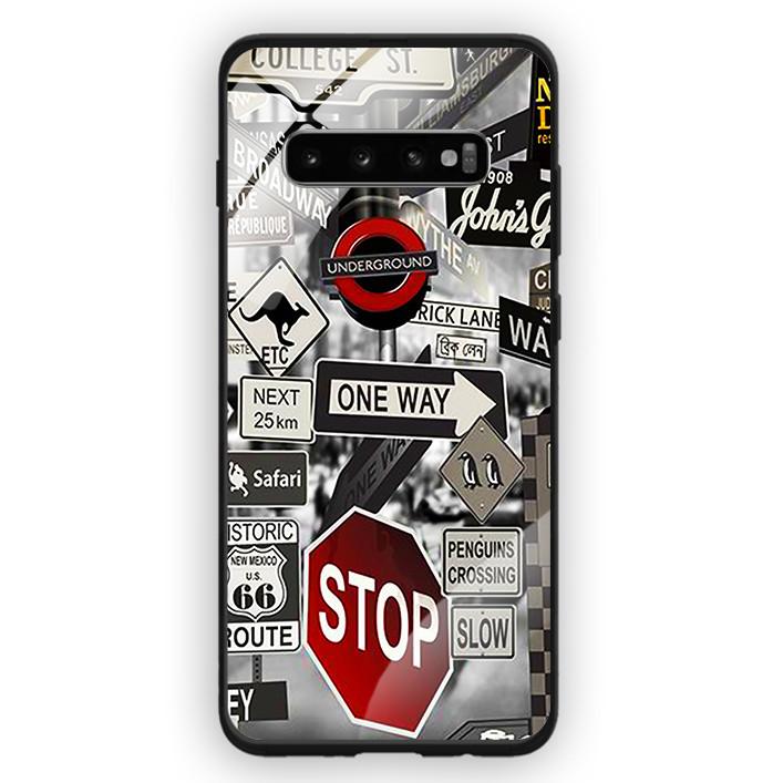Ốp Lưng Kính Cường Lực Cho Điện Thoại Samsung Galaxy S10 Plus - 391 0080 STREET01 - Hàng Chính Hãng