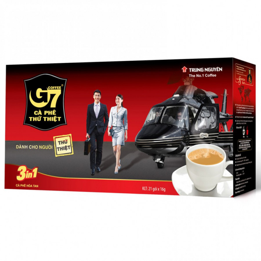 Cà phê G7 3in1 - 9605515 , 5248765066922 , 62_19254125 , 60000 , Ca-phe-G7-3in1-62_19254125 , tiki.vn , Cà phê G7 3in1