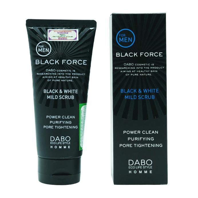 Sữa rửa mặt dành cho nam Dabo Homme Black Force Foam Cleanser 120ml - 804597 , 5212950487021 , 62_14233719 , 185000 , Sua-rua-mat-danh-cho-nam-Dabo-Homme-Black-Force-Foam-Cleanser-120ml-62_14233719 , tiki.vn , Sữa rửa mặt dành cho nam Dabo Homme Black Force Foam Cleanser 120ml
