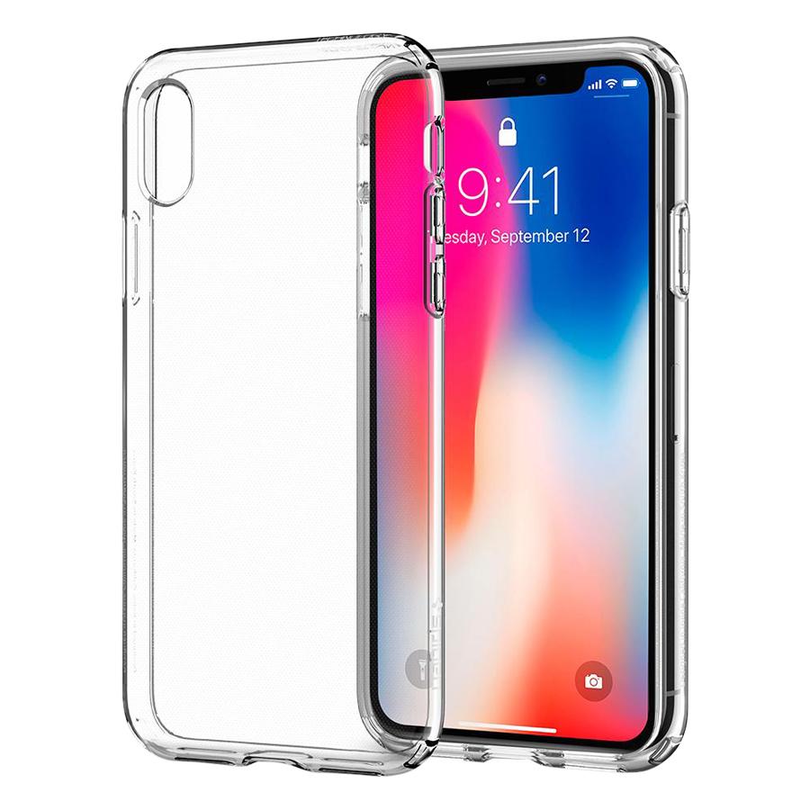 Ốp Lưng Dẻo iPhone X/ Xs Hoco HOCOIPX-CLR (Trong Suốt) - Hàng Nhập Khẩu