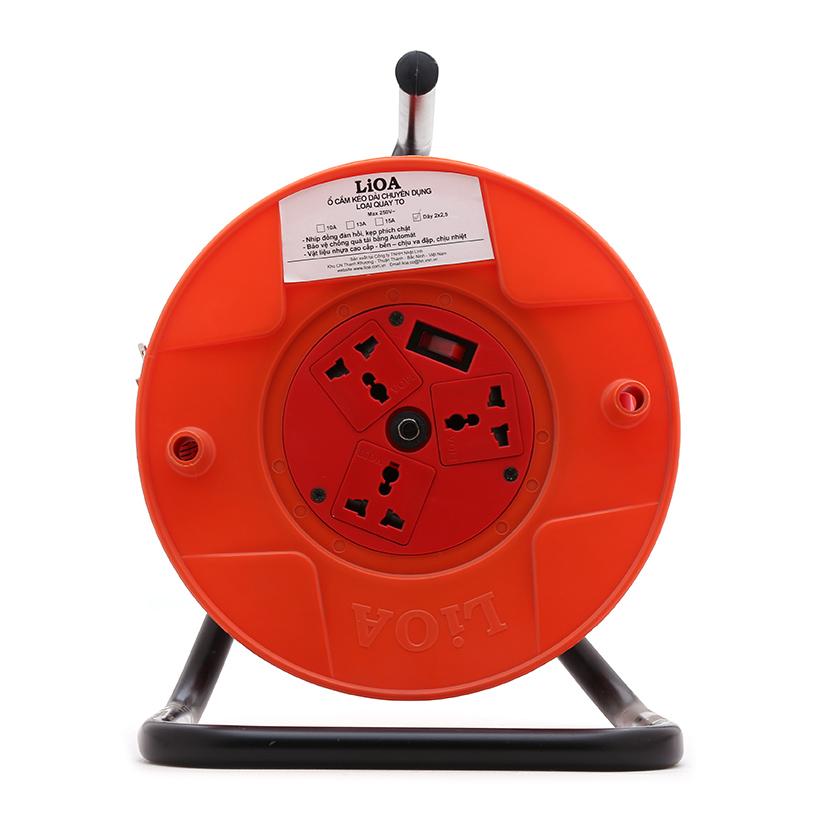 Ổ cắm kéo dài quay tay kiểu Rulo to LIOA QT3025 30M X 3 - 1128805 , 4572494287947 , 62_4306063 , 1298000 , O-cam-keo-dai-quay-tay-kieu-Rulo-to-LIOA-QT3025-30M-X-3-62_4306063 , tiki.vn , Ổ cắm kéo dài quay tay kiểu Rulo to LIOA QT3025 30M X 3