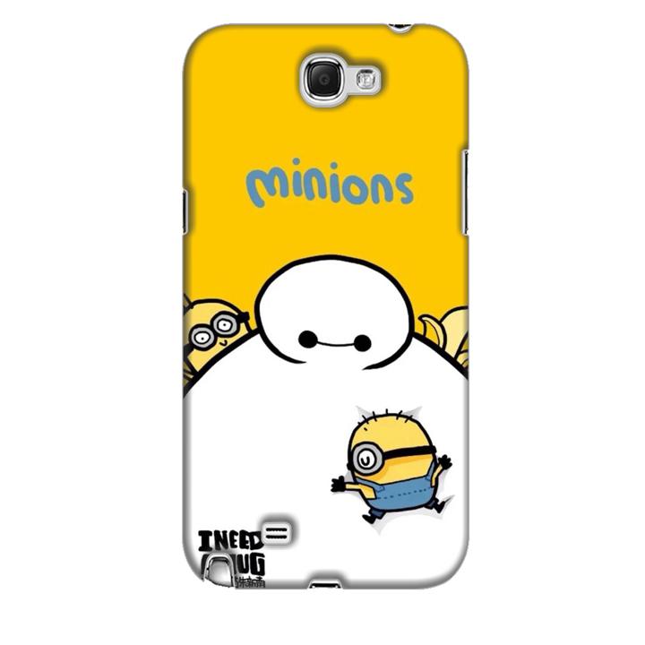 Ốp lưng dành cho điện thoại  SAMSUNG GALAXY NOTE 2 hinh Big Hero Minions
