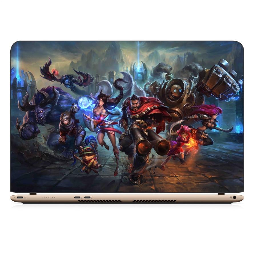 Miếng Dán Skin In Decal Dành Cho Laptop - Liên Minh Huyền Thoại 2