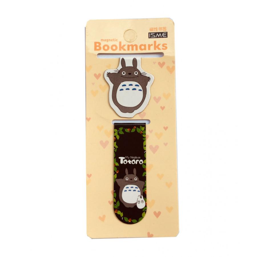 Bộ 2 đánh dấu sách bookmark Totoro  Friends nam châm