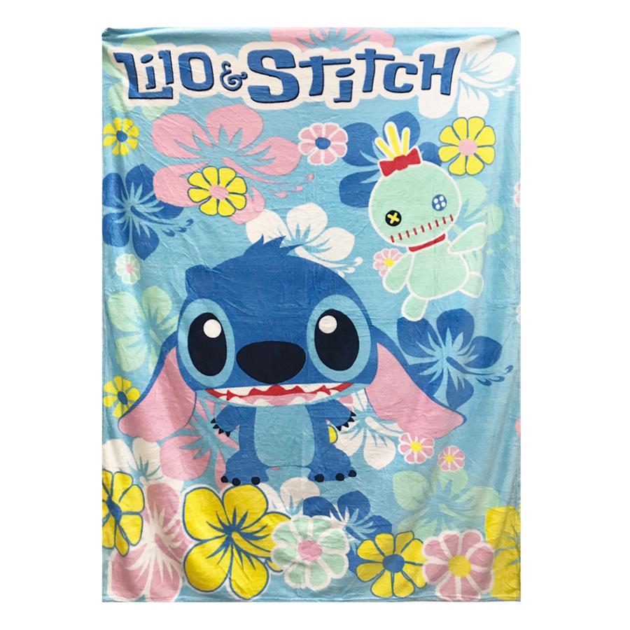 Chăn Mền Băng Lông Disney Mẫu Stitch (2 x 1.6m)