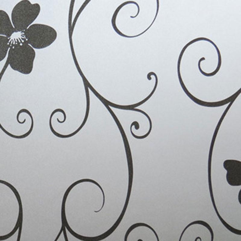 Decal Kính Mờ Hình Hoa 45*100cm