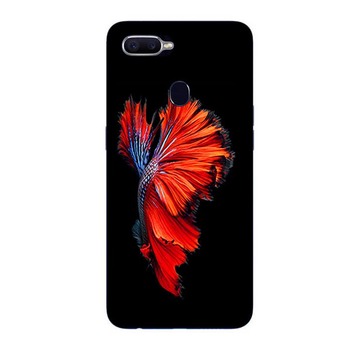 Ốp Lưng Dẻo Cho Điện thoại Oppo F9 - Fish 01