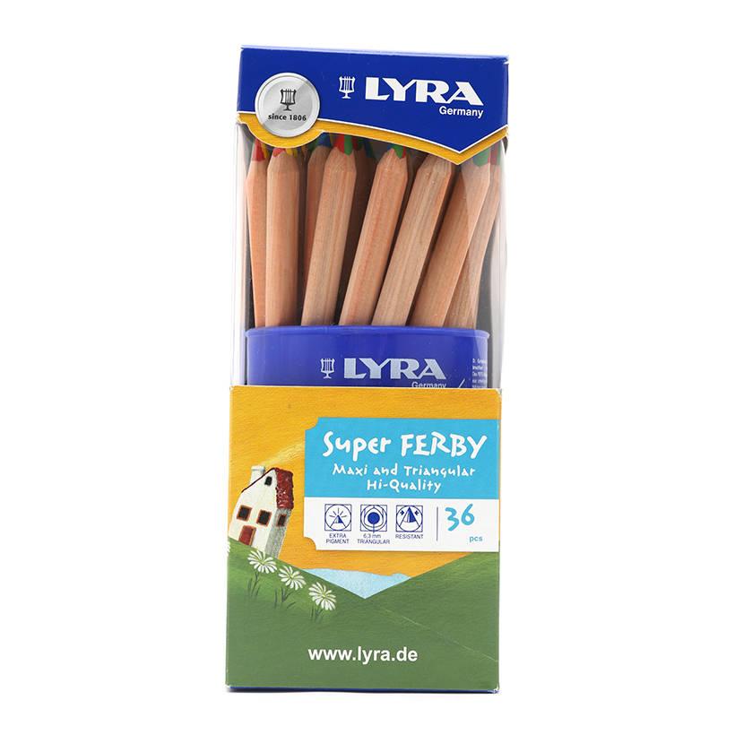 Bút Chì Màu Thân To Lyra Super Ferby (4 Màu)