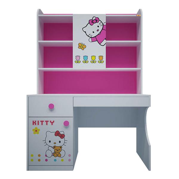 Bàn Học Có Giá Sách Hình Hello Kitty IBIE CTKITM12 (1m2)