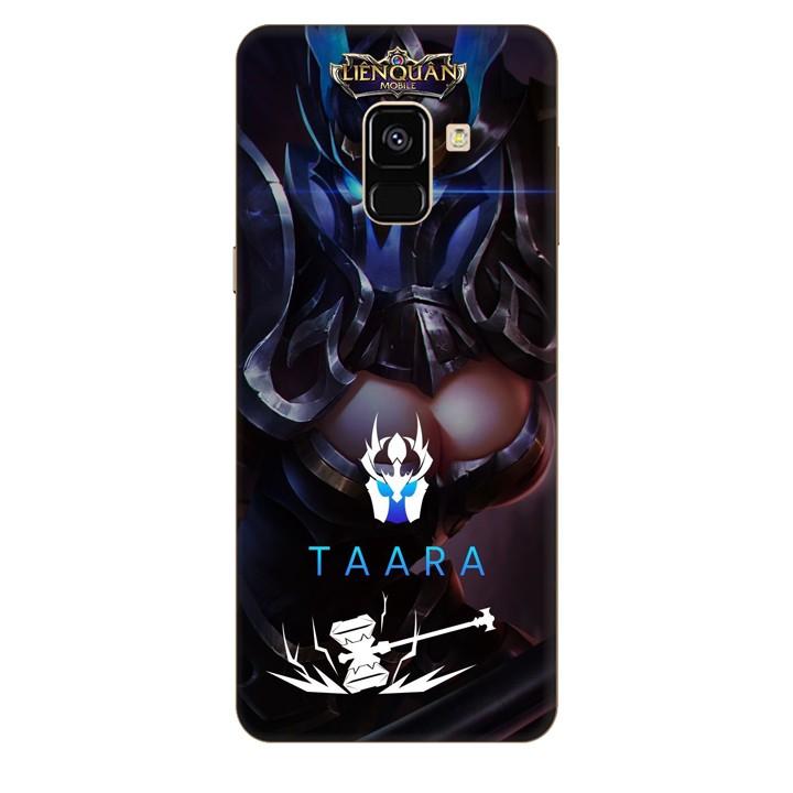 Ốp lưng nhựa cứng nhám dành cho Samsung Galaxy A8 2018 in hình Taara