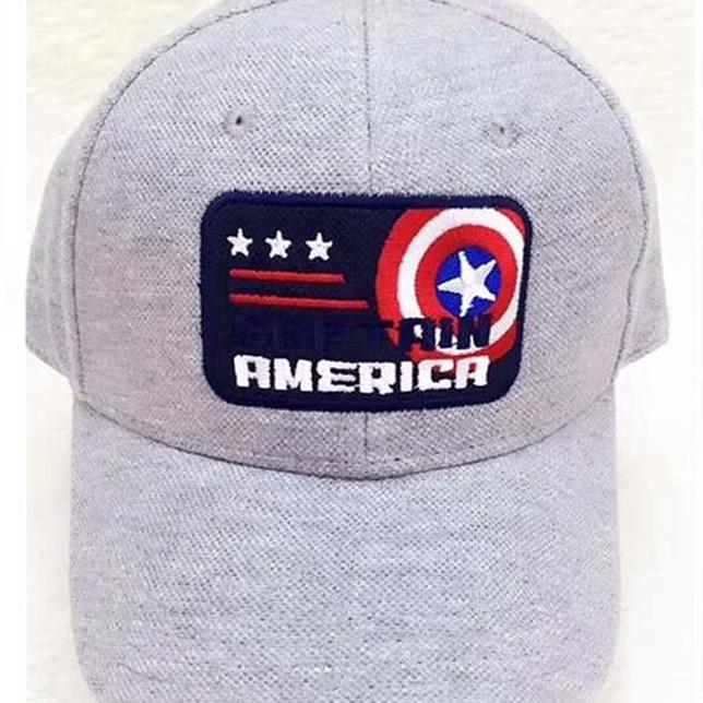 Mũ Lưỡi Chai Hình Captain America