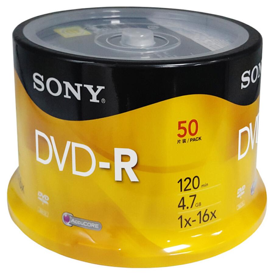 Đĩa Trắng DVD-R/+R SONY 16-speed 4.7G