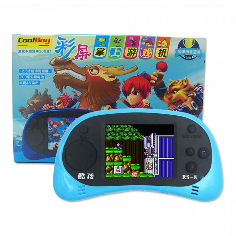 Máy chơi game cầm tay tích hợp 260 games trong một RS-8 - Hàng Nhập Khẩu - 18528919 , 6117774340561 , 62_26304190 , 500000 , May-choi-game-cam-tay-tich-hop-260-games-trong-mot-RS-8-Hang-Nhap-Khau-62_26304190 , tiki.vn , Máy chơi game cầm tay tích hợp 260 games trong một RS-8 - Hàng Nhập Khẩu