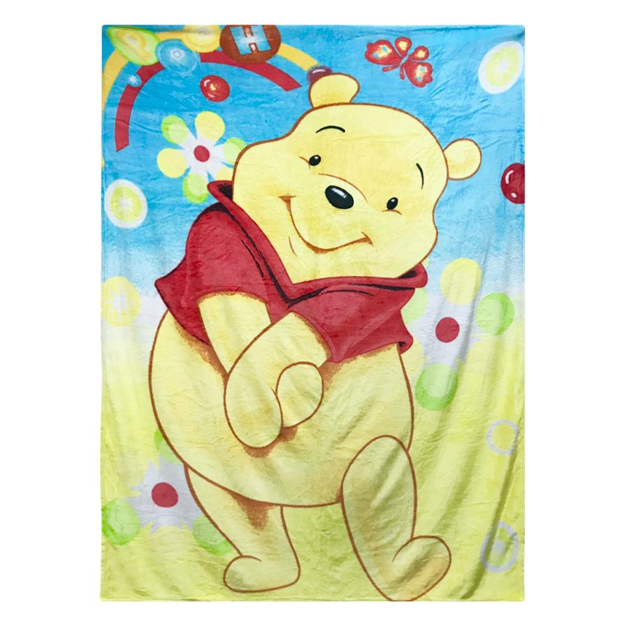 Chăn Mền Băng Lông Disney Mẫu Gấu Pooh (2 x 1.6m)