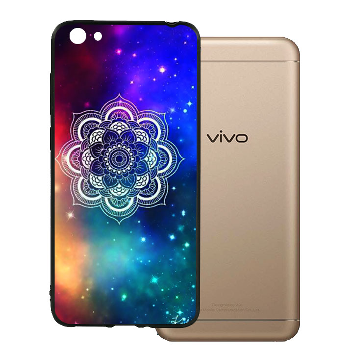 Ốp lưng viền TPU cho Vivo Y55 - Hoa Gió 09