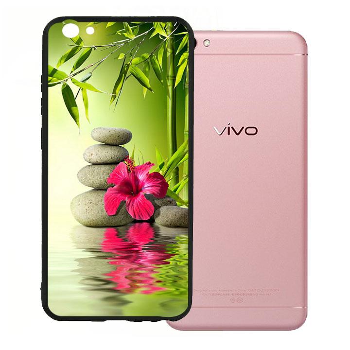 Ốp lưng viền TPU cho Vivo V5 - Nature 01