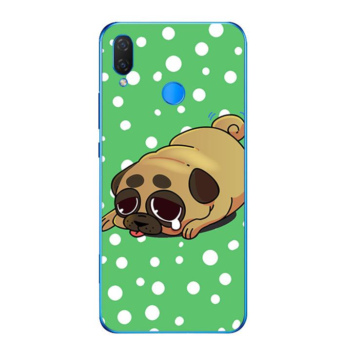 Ốp lưng dẻo cho điện thoại Huawei Y9 2019 - Dog cry 02