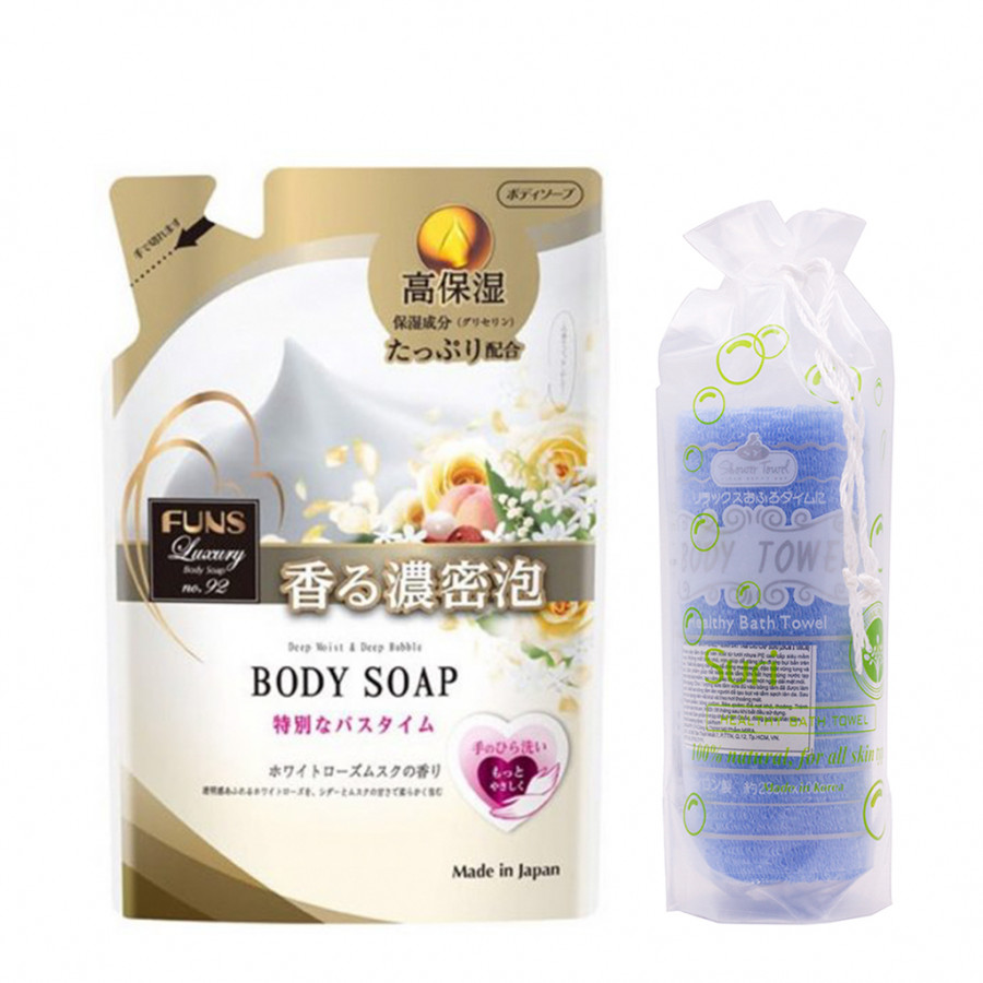 Sữa tắm Nhật Bản trắng da hương nước hoa không gây kích ứng, an toàn cho da YSL Baby Doll cao cấp Funs Luxury Body NO.92... - 1895896 , 8994308995804 , 62_14531941 , 850000 , Sua-tam-Nhat-Ban-trang-da-huong-nuoc-hoa-khong-gay-kich-ung-an-toan-cho-da-YSL-Baby-Doll-cao-cap-Funs-Luxury-Body-NO.92...-62_14531941 , tiki.vn , Sữa tắm Nhật Bản trắng da hương nước hoa không gây kíc