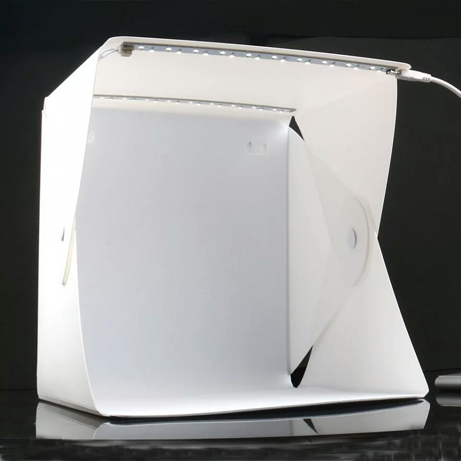Hộp chụp sản phẩm mini 24cm x 24cm tích hợp 2 đèn Led 6 màu phông nền - 1326012 , 7972565525300 , 62_5403893 , 249000 , Hop-chup-san-pham-mini-24cm-x-24cm-tich-hop-2-den-Led-6-mau-phong-nen-62_5403893 , tiki.vn , Hộp chụp sản phẩm mini 24cm x 24cm tích hợp 2 đèn Led 6 màu phông nền