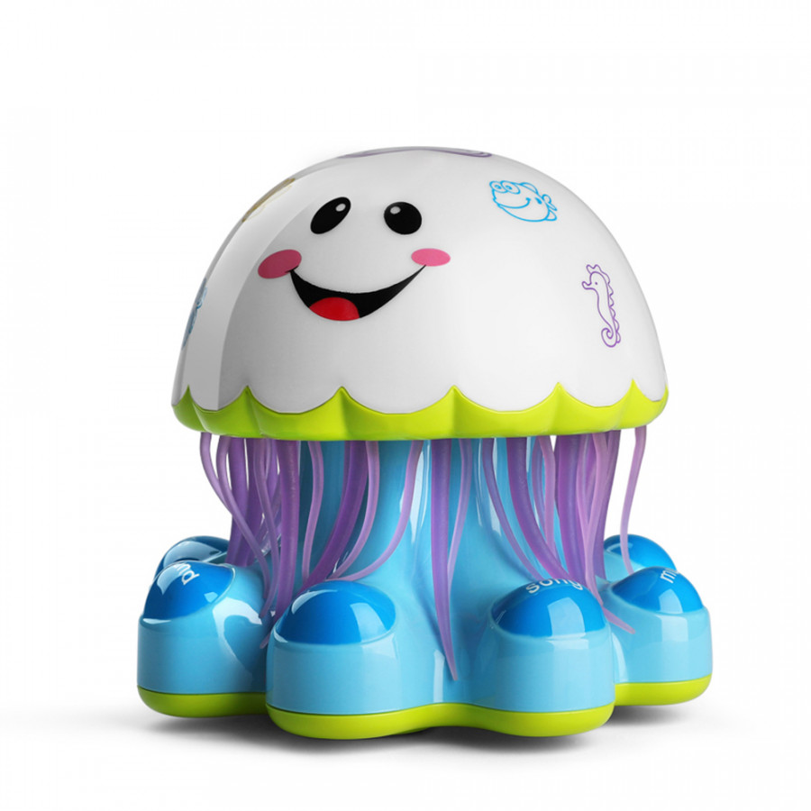 Electronic Baby Activity Jellyfish Dancing and Musical Toys for Toddlers Boys and Girls Learning Toy Plays Music Sounds