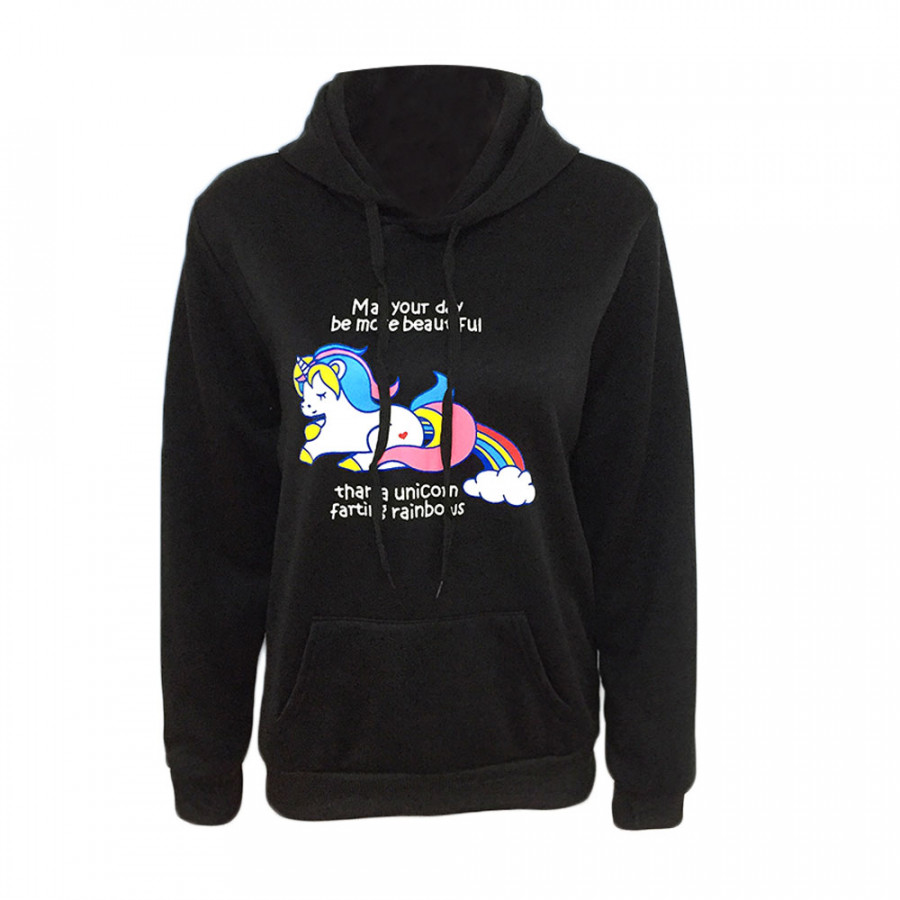 Womens Lady Rainbow Unicorn Horse Hoodie Sweater Pullover Hooded Swearshirt Tops - 5070514 , 7961776506031 , 62_15903850 , 414000 , Womens-Lady-Rainbow-Unicorn-Horse-Hoodie-Sweater-Pullover-Hooded-Swearshirt-Tops-62_15903850 , tiki.vn , Womens Lady Rainbow Unicorn Horse Hoodie Sweater Pullover Hooded Swearshirt Tops