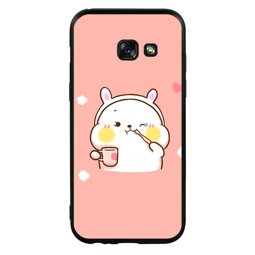 Ốp lưng viền TPU cho điện thoại Samsung Galaxy A3 2017 - Cute 06