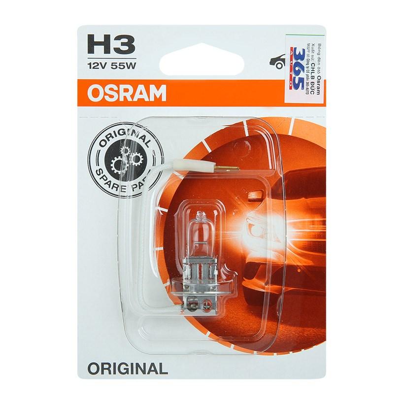 Bóng Đèn Osram H3 Standard 12V (55W) - Trắng