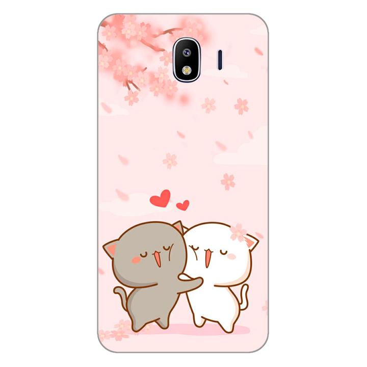 Ốp lưng dẻo cho điện thoại Samsung Galaxy J4_0509 LOVELY05 - Hàng Chính Hãng