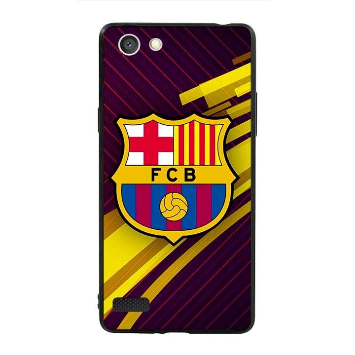 Ốp lưng viền TPU cho dành cho Oppo Neo 7 - Clb Barcelona 01