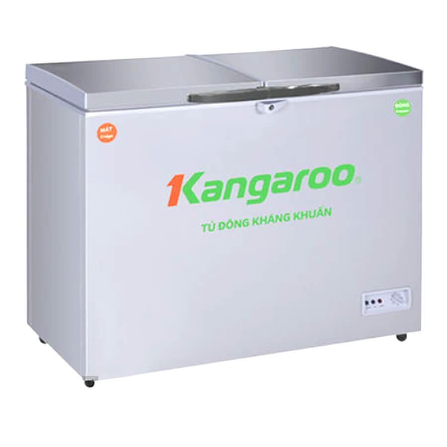 Tủ đông kháng khuẩn Kangaroo 388L 2 ngăn, 2 cánh KG388VC2 - Hàng Chính Hãng