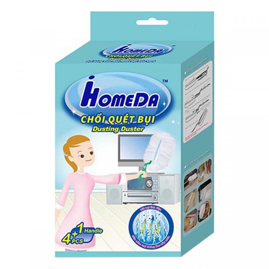 Chổi quét bụi đa năng sạch nhanh không vết ố gấp gọn nhẹ dễ dùng Chất lượng Nhật Bản iHomeda Dusting Duster (1...