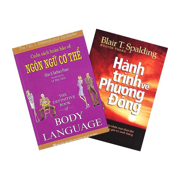 Combo Cuốn Sách Hoàn Hảo Về Ngôn Ngữ Cơ Thể - Body Language + Hành Trình Về Phương Đông - Tái Bản (2 cuốn)