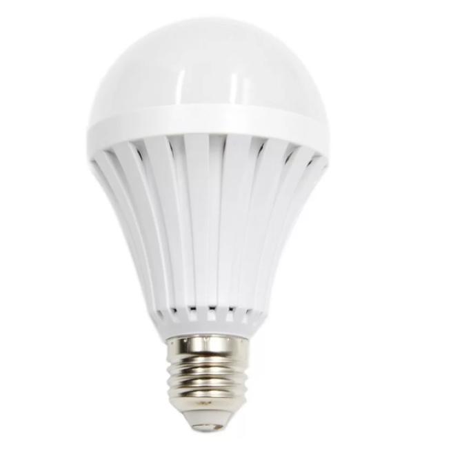 Bóng đèn Led cảm ứng tích điện 9W có chui sạc