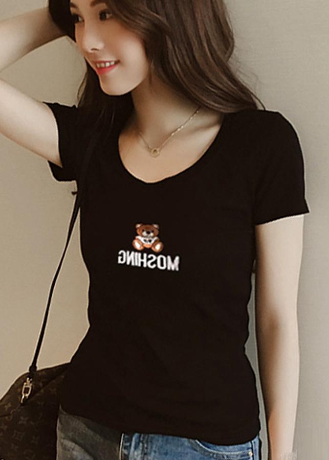 Áo thun nữ thời trang hình chú gấu dễ thương 133 - 5265981 , 1352921054891 , 62_11414123 , 198000 , Ao-thun-nu-thoi-trang-hinh-chu-gau-de-thuong-133-62_11414123 , tiki.vn , Áo thun nữ thời trang hình chú gấu dễ thương 133