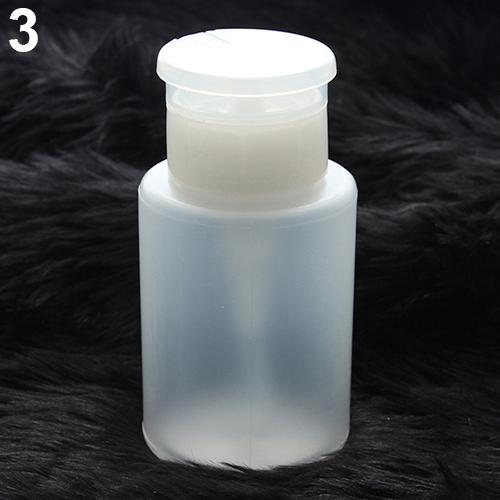 150ML Nail Art Remover UV GEL Polish Pump Polish Dispenser Empty Bottle