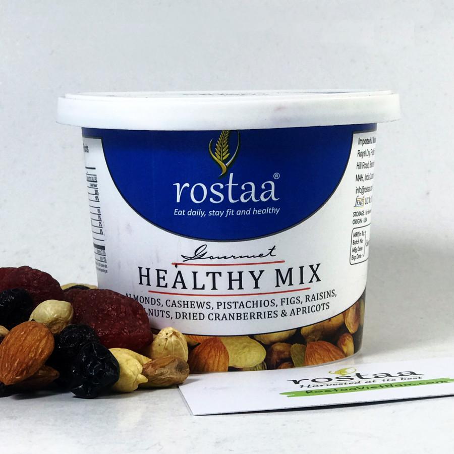 Trái Cây sấy khô và hạt dinh dưỡng nhập khẩu Healthy Mix 125G