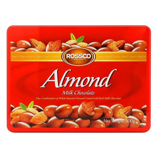 Kẹo Socola Rossco Almond Đỏ (300g)