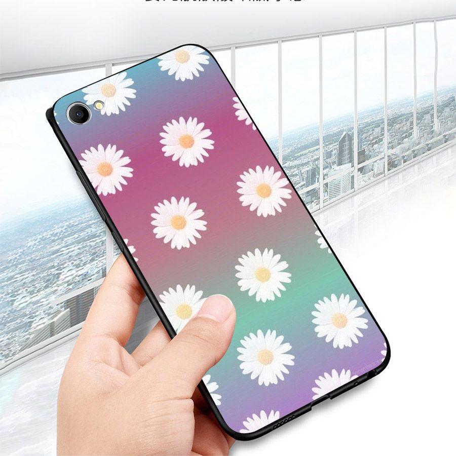 Ốp lưng cứng viền dẻo dành cho điện thoại Oppo A83/A1 - HOA NGHỆ THUẬT MS HNT016-Hàng Chính Hãng Cao Cấp
