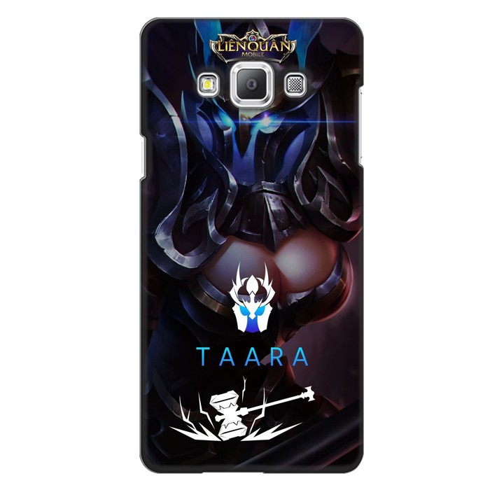 Ốp lưng nhựa cứng nhám dành cho Samsung Galaxy A7 in hình Taara