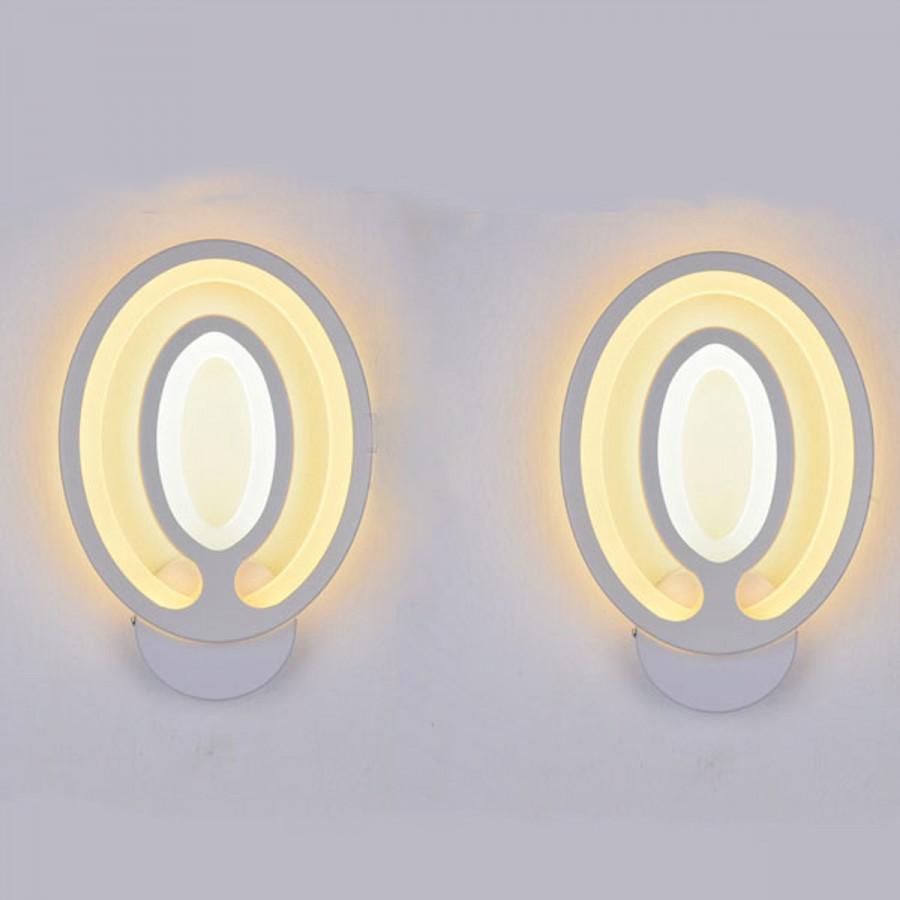 Combo 2 đèn tường Led mâm hoa hướng dương TTLH002_08 - Đèn trang trí NATURAL LAMP