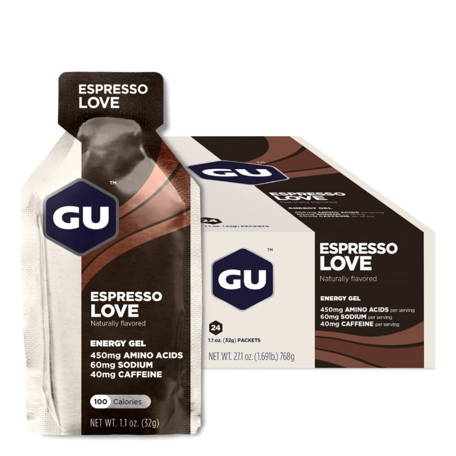 Gel Năng Lượng Vị Cafe Espresso GU Energy Labs (24 Gói / Hộp)