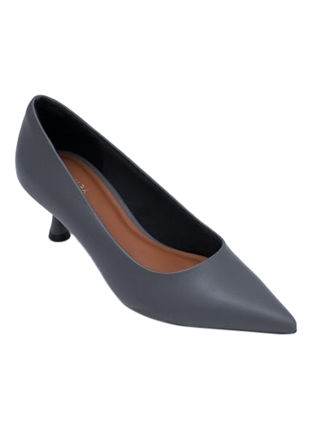 Giày Bít Mũi Nữ Gót Loe B768