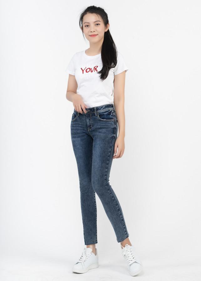 Quần Jeans Nữ VinJeans VWD0026