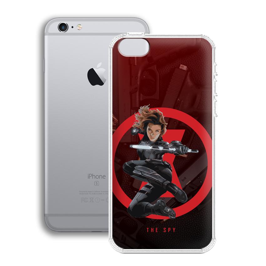 Ốp lưng cho điện thoại Apple Iphone 6 plus - 01012 0538 SPY01 - Silicone dẻo - Hàng Chính Hãng